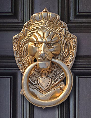Labor Day Offers Souvnear 6 Lion Door Knocker With
