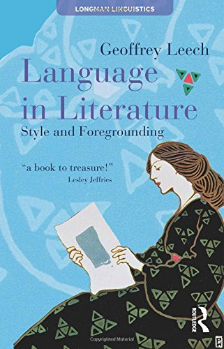 Language In Literature: Style And Foregrounding (Textual Explorations) front-801735