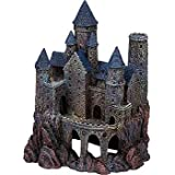 Penn-Plax 9-Inch Age of Magic Wizard's Castle, Large