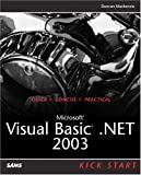 img - for Microsoft Visual Basic .NET 2003 Kick Start book / textbook / text book