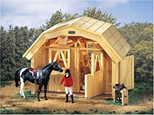 Breyer DeluxeTwo Stall Barn - Fits Traditional Series Breyer Horses