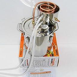 Selani™ 3 Gal Water Alcohol Wine Distiller Moonshine Still Stainless Boiler 10-12L