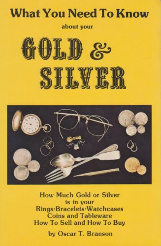 What You Need to Know About Your Gold and Silver, O. T. Branson