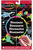 Melissa & Doug Scratch Magic Draw and Learn Dinosaur