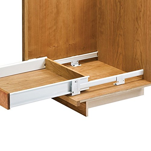 22'' Floor Mounted Slides Pantry Pull-Out (with Metal Sides) (Roll Out Cabinet Drawers compare prices)