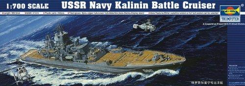 Trumpeter 1/700 USSR Navy Kalinin Battle Cruiser # 05709
