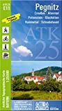 ATK25-E11 Pegnitz (Amtliche Topographische Karte 1:25000): Creußen, Ahorntal, Pottenstein, Glashütten, Hummeltal, Schnabelwaid