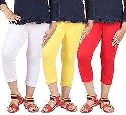 Avarnas Girls Multi color Capris