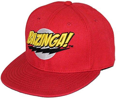 the-big-bang-theory-logo-bazinga-cappello-rosso