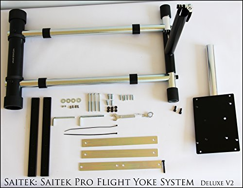 Wheel Stand Pro Stand for Saitek Pro Flight/Cessna Yoke System;Yoke Support; Wheel Stand Only Flight System Not included