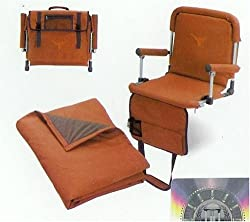 Foldable All Purpose Stadium Seat With Blanket UT Logo