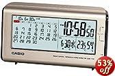 CASIO(カシオ) 目覚まし時計 温湿度計付き電波クロック DQC-110J-8JF