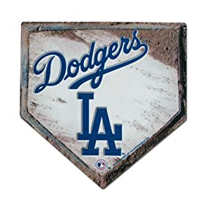 MLB Dodgers Home Plate Design Mouse Pad