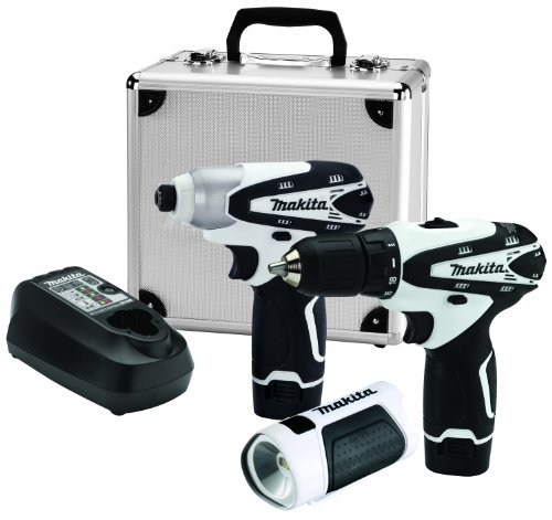 Makita-LCT314W-12V-Max-Lithium-Ion-Cordless-3-Piece-Combo-Kit