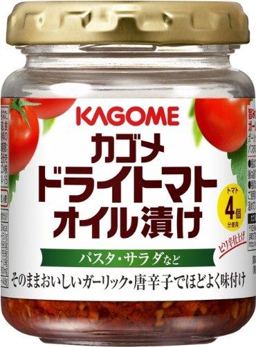 カゴメ ドライトマトオイル漬け 110g×6個
