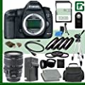 Canon 5D Mark III Digital SLR Camera and Canon 28-135mm Lens + 32GB Green's Camera Package 2