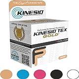 """Kinesio Tex Gold Tape - 2"""" W x 16.4' L - Water Resistant - Single Roll - Beige"""