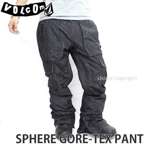 VOLCOM(ボルコム) メンズ ウェア SPHERE GORE-TEX PANT パンツ 15-16 SNK/S [並行輸入品]