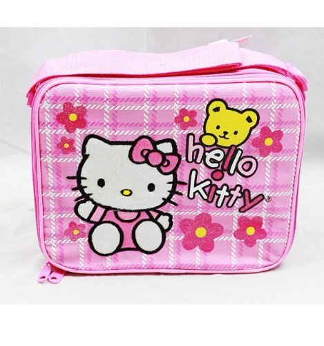 Hello Kitty Pink Insulated Lunch BAG - BEAR