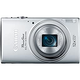 Canon PowerShot ELPH 340 HS 16MP Digital Camera (Silver)