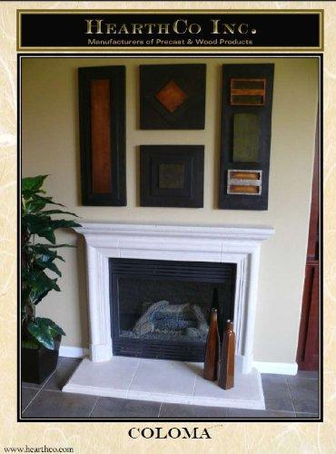 Coloma Precast Fireplace Mantel and Surround (Precast Fireplace Mantel compare prices)