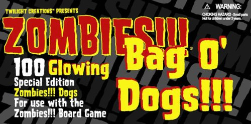 Zombies!!! Glowing Bag O' Dogs!!!