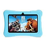 iClever 7 Inches Quad Core Android Kids Tablet, with Wifi and Camera and Games, HD Kids Edition with Zoodles Pre-Installed, Blue video review