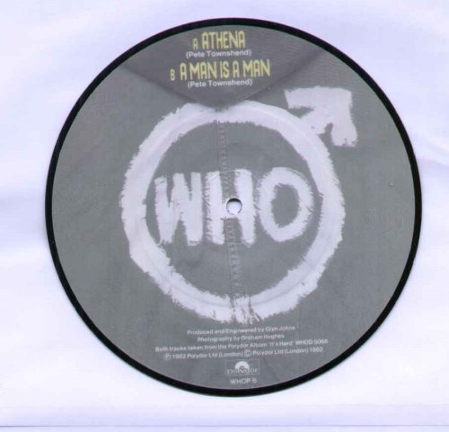Who - Athena - Picture Disc - 7 inch vinyl / 45 (Athena Picture compare prices)