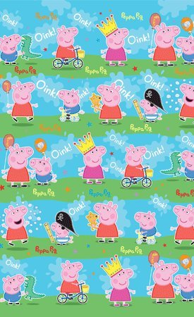 Peppa Pig Gift Wrap / Wrapping Paper 4m Roll