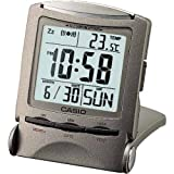 CASIO travel clock PQ50J8 display metallic gray Digital (Japan Import)