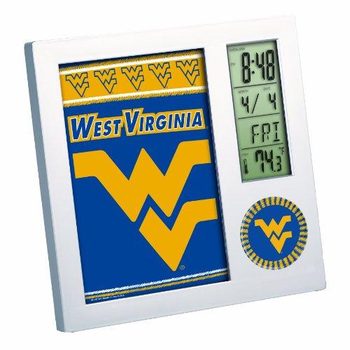 NCAA West Virginia Mountaineers Digital Desk Clock
