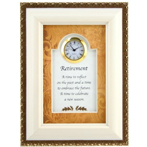 Time to Reflect Retirement Clock - Retirement Gift for Women