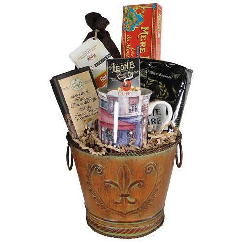 Chocolate and Cocoa Gourmet and Soap Gift Basket
