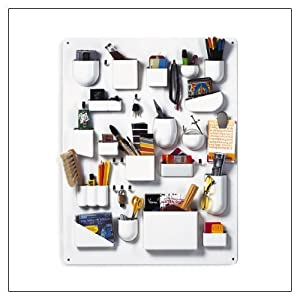 Uten.Silo Storage System by Vitra, color = White; size = Large