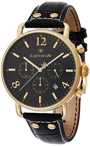 Thomas Earnshaw - ES-8001-01 - Investigator - Quartz Chronographe Homme