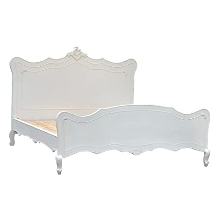 Boudoir Provence - Pure White Rococo Bed
