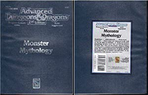 Monster Mythology (Advanced Dungeons & Dragons: Dungeon Master's Guide Rules Supplement 2128 Dm5r4) by Carl Sargent