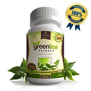 Amazon Com 1 Pure Green Tea Extract With Egcg Anti