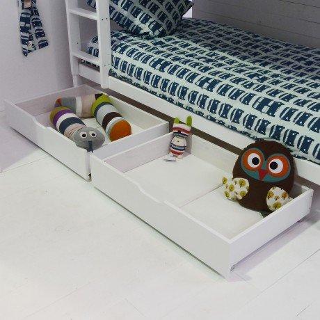 Alfred & Compagnie - Paire de tiroirs lits 90x60 Igor