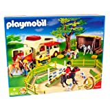 Playmobil - Playmobil 4074 - Carri�re avec camping-car et remorquepar Playmobil
