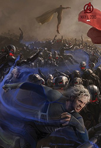 the avengers age of ultron 2015 movie poster 13x19