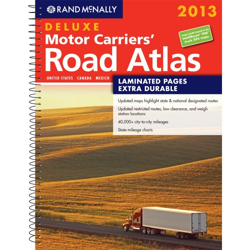 Deluxe Motor Carriers' Road Atlas (Rand Mcnally Motor Carriers' Road Atlas Deluxe Edition)