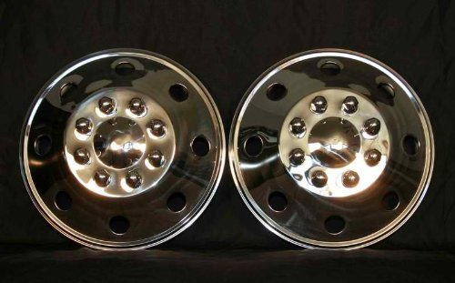 Ford Dodge Gmc Chevy Rv Truck Van Motorhome 16 Wheel Covers Hubcaps Pair