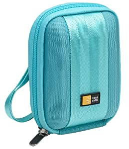 Case Logic QPB-201 EVA Molded Compact Camera Case (Light Blue) (Discontinued by Manufacturer)