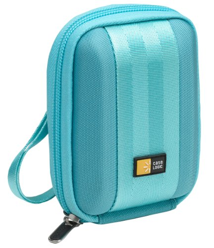 Case Logic QPB-201LightBlue EVA Molded Compact Camera Case (Light Blue)