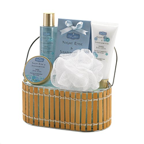 Home Locomotion Night Rose And Sandalwood Bath Gift Set