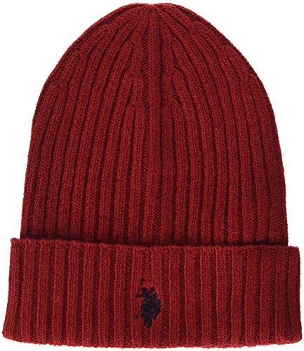 U.S.POLO ASSN. Uspa Logo Hat, Cappello Uomo, Rosso, Taglia Unica