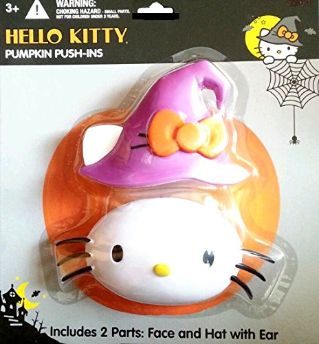 Hello Kitty Sanrio Pumpkin Push ins Witch - 1