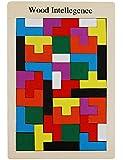 KAILIMENG Wooden Tetris Puzzle Toy