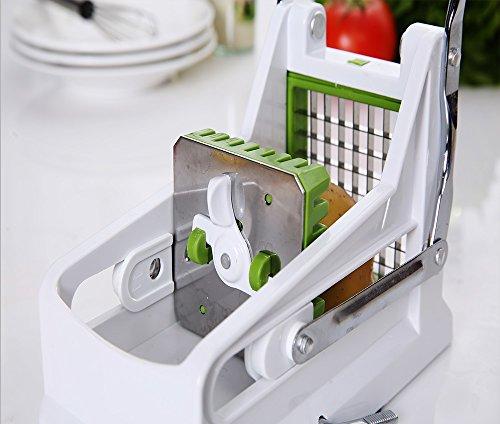 keynice pommes frites schneider mit rundem boden f r einfaches schneiden von kartoffeln. Black Bedroom Furniture Sets. Home Design Ideas
